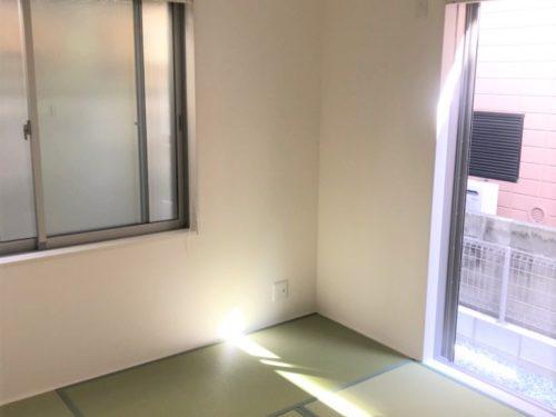 明るい和室(内装)